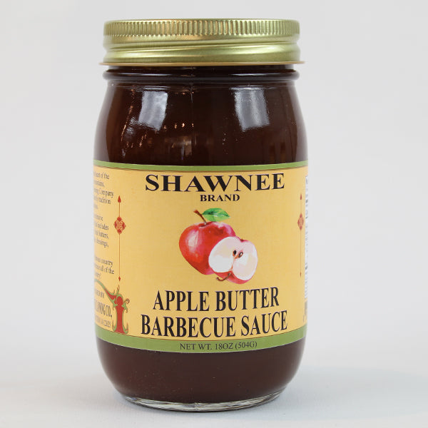 Shawnee Springs Barbecue Sauce Trio-Apple Butter BBQ Sauce