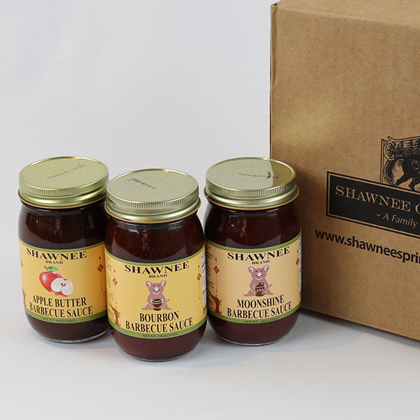 Shawnee Springs Barbecue Sauce Trio