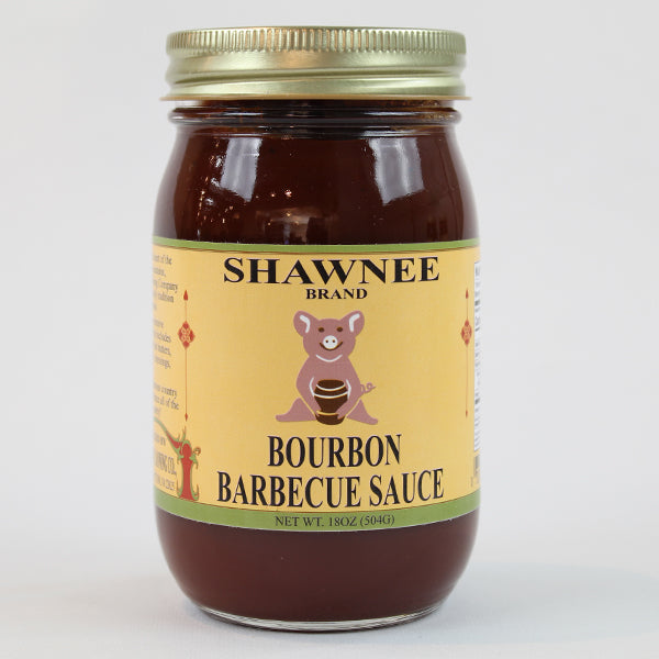 Shawnee Springs Barbecue Sauce Trio-Bourbon BBQ Sauce