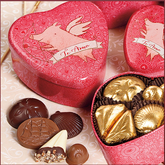 When Pigs Fly Tin Assortment, 20 Pieces