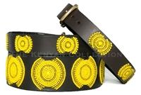 Sunshine Beaded Dog Collar by The Kenyan Collection