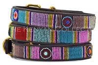 Bijou Beaded Dog Collar by The Kenyan Collection