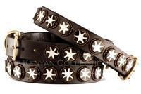 Batik Bone Stare Beaded Dog Collar by The Kenyan Collection