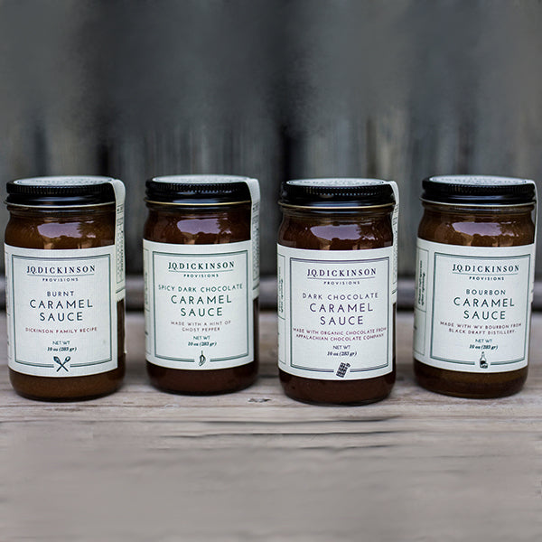 Caramel Sauce Trio, 3 Jar Set, 10oz