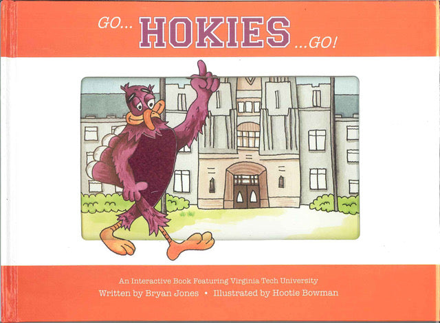 Go... Hokies...Go! Children's Book