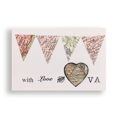 Visual Treats Exclusive Virginia Pride Card Pack - With Love From Virginia Card