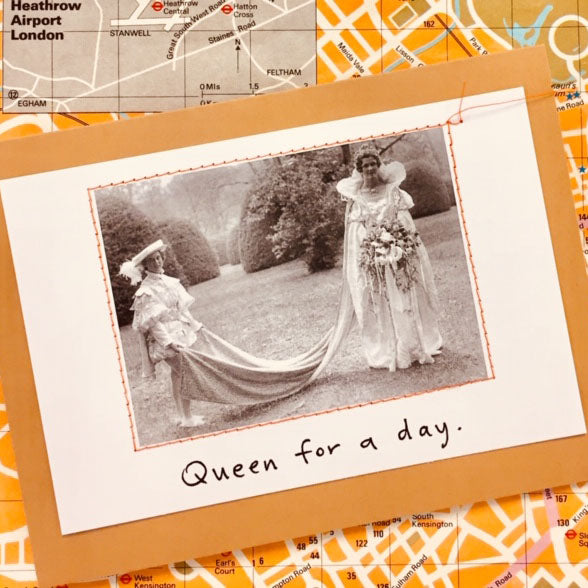 Exclusive Royal Greetings Card Pack by Visual Treats - Queen for a Day