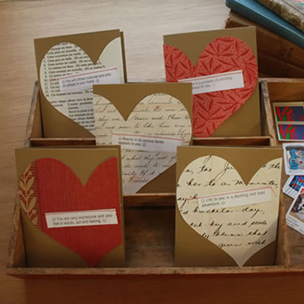 Love Notes Card Pack, 6 Card Set