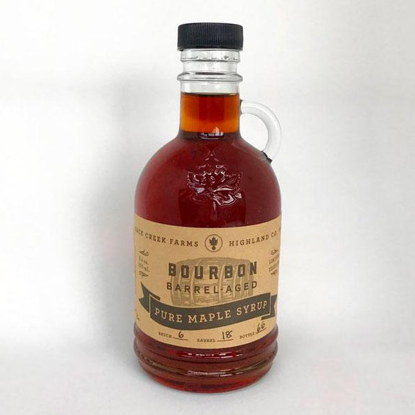 Bourbon Barrel-aged Maple Syrup from Back Creek Farms