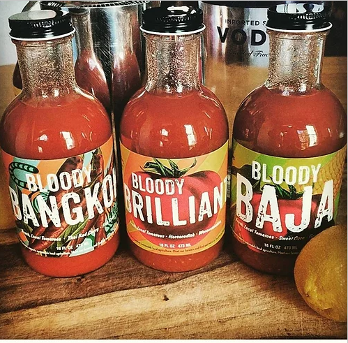 Bloody Mary Mix, Set of (3) Flavors, 16oz Bottles