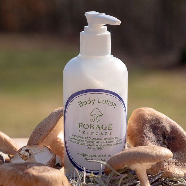 Forage Skincare Body Lotion from HaaShrooms