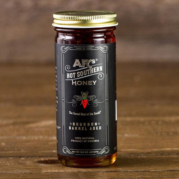 AR's Bourbon Barrel Aged Hot-Hot Southern Honey