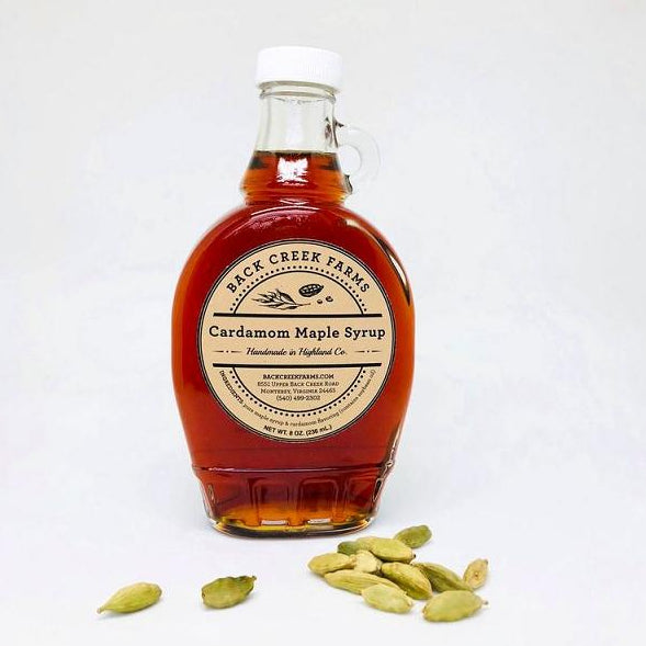 Cardamom Maple Syrup from Back Creek Farms