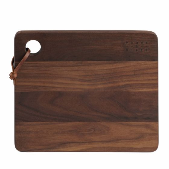 Walnut Cutting Board from Moore & Giles