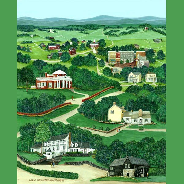 Charlottesville Countryside, Giclee Print, 11 x 14