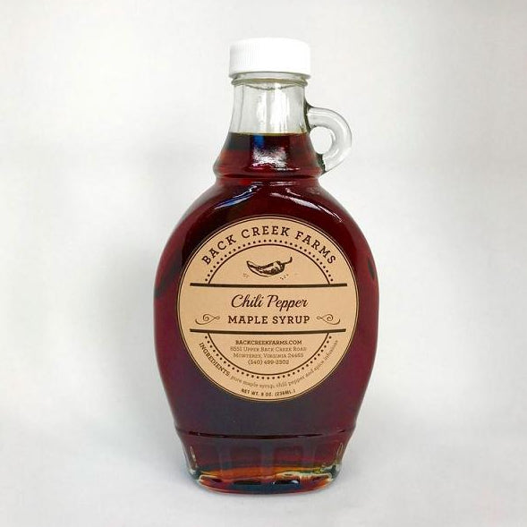 Chili Pepper Infused Maple Syrup from Back Creek Farms