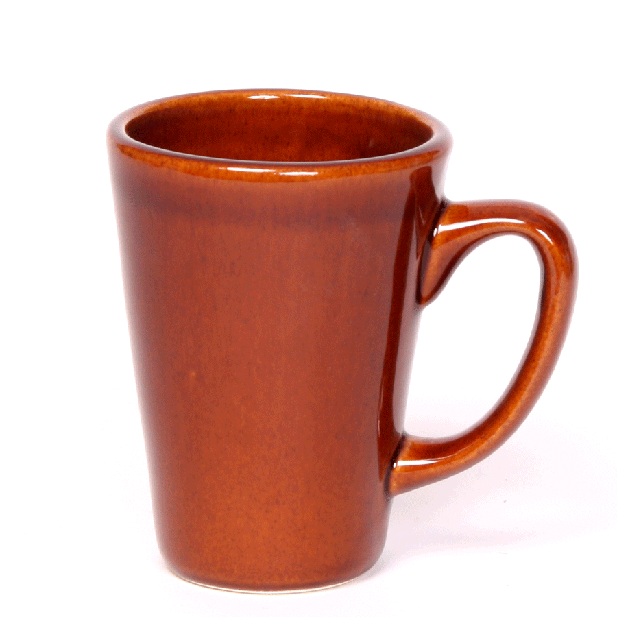 Copper Clay Latte Mug, 16oz