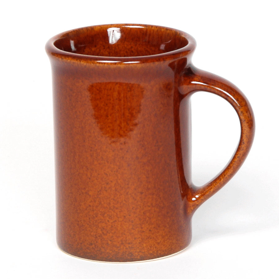 Copper Clay Tea Cup, 10oz