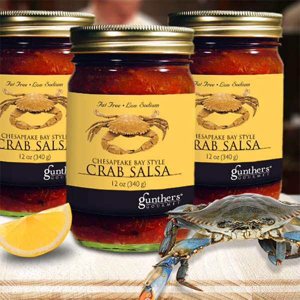 Chesapeake Bay Crab Salsa, 12oz Jar