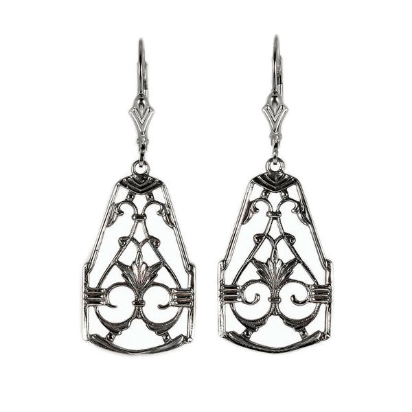 Hugo Kohl Sterling Silver Earrings, model ER001