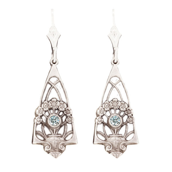 Hugo Kohl Sterling Silver Earrings, model ER009
