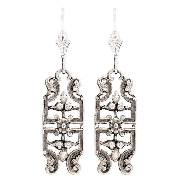 Hugo Kohl Sterling Silver Earrings, model ER051