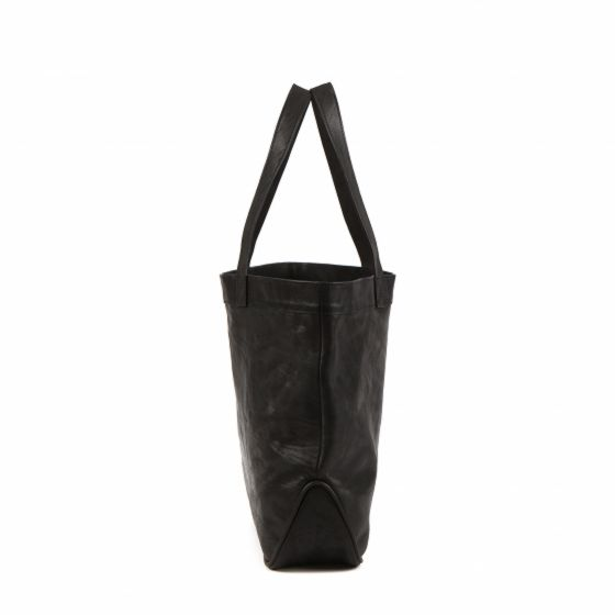 Erin Shop Tote in Luxe Black from Moore & Giles