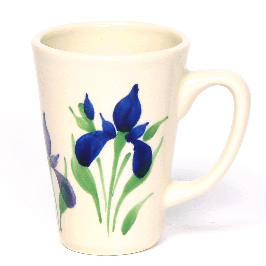 Field of Iris Latte Mug