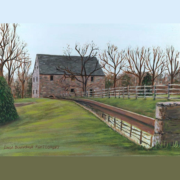 George Washington's Grist Mill-Alexandria, Giclee Print, 8 x 10""