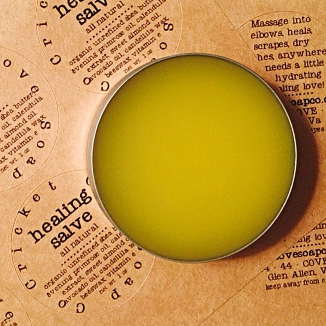 Cricket Cove Soap Salve
