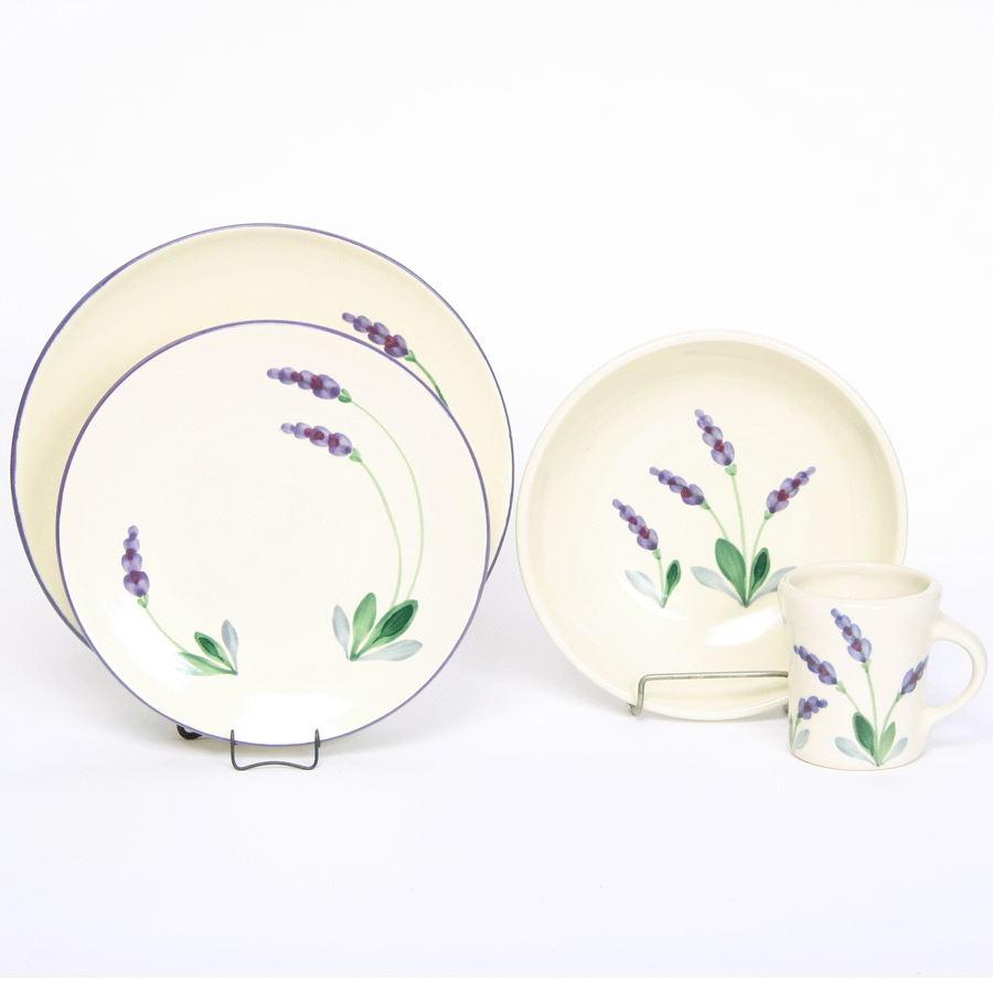 Lavender Craftline, Dinner Set for One