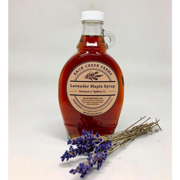 Lavender Maple Syrup from Back Creek Farms