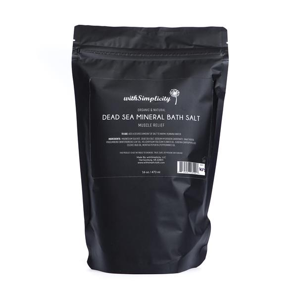 DEAD SEA MINERAL BATH SALTS - MUSCLE RELIEF