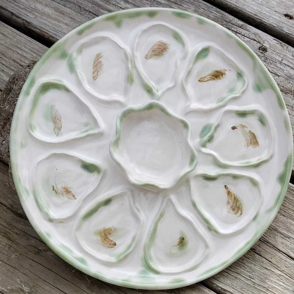 Oyster Plate, 10.5""