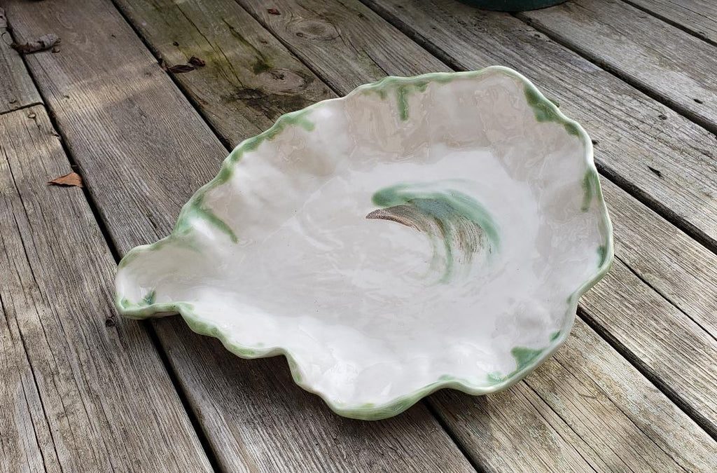 "Oyster Serving Bowl, 15"" x 11"""