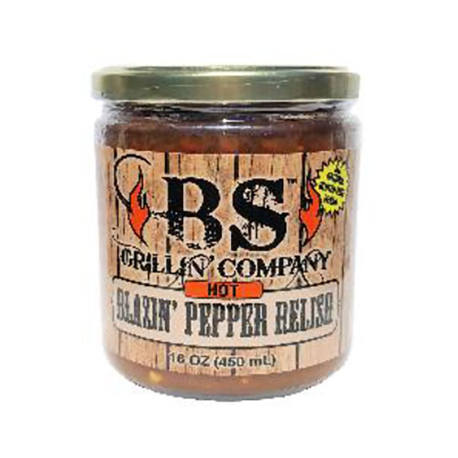 Blazin' Pepper Relish by BS Grillin