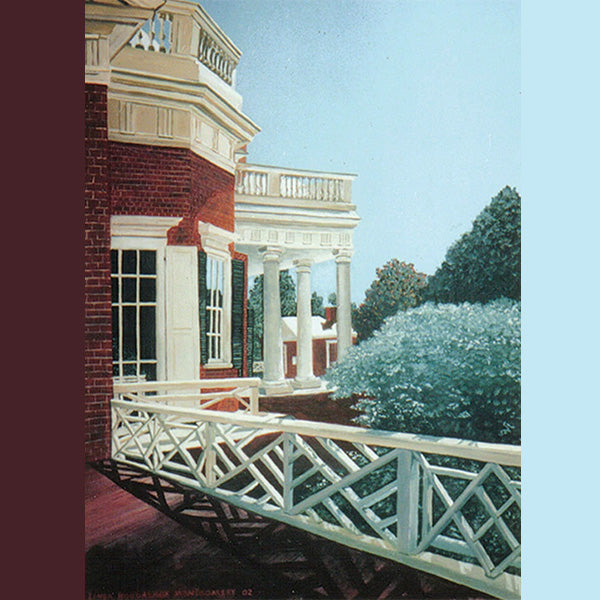 On the Porch at Monticello, Giclee Print, 11 x 14""