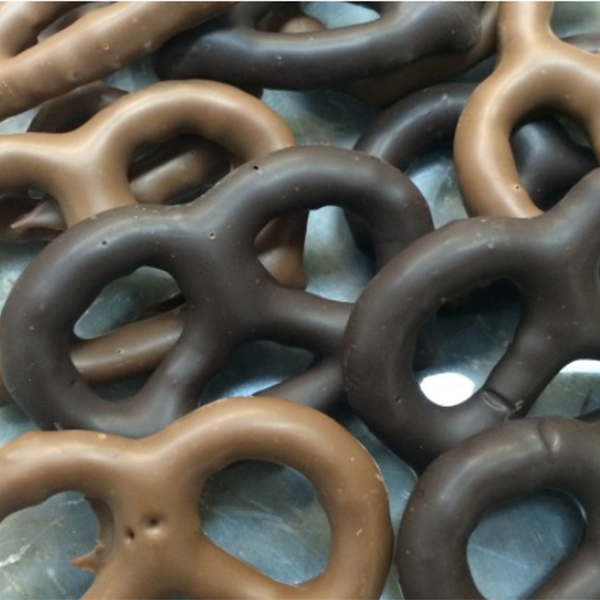 Belgian Chocolate Covered Pretzels