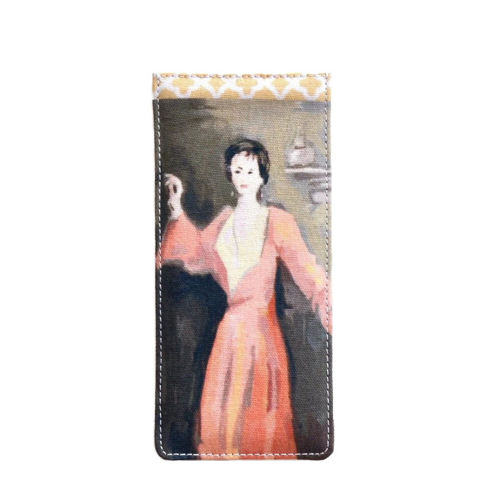 Dana Gibson Red Lady Eyeglass Case