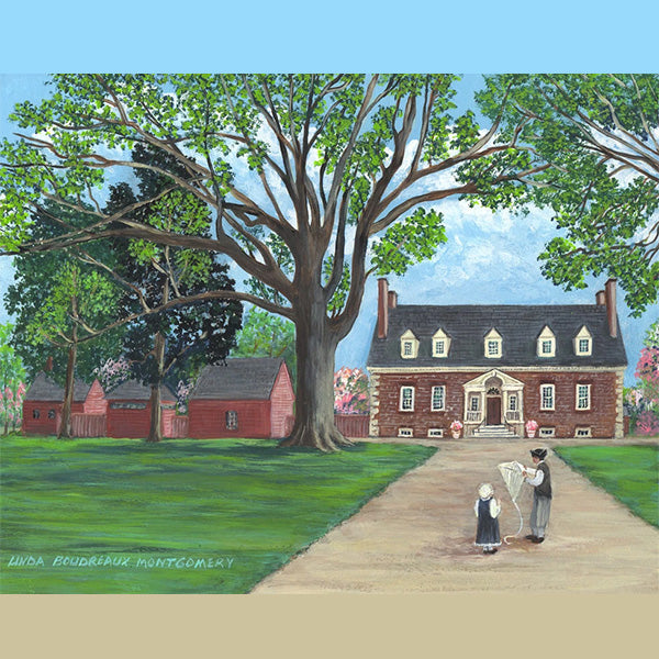 Gunston Hall, Giclee Print, 11 x 14""