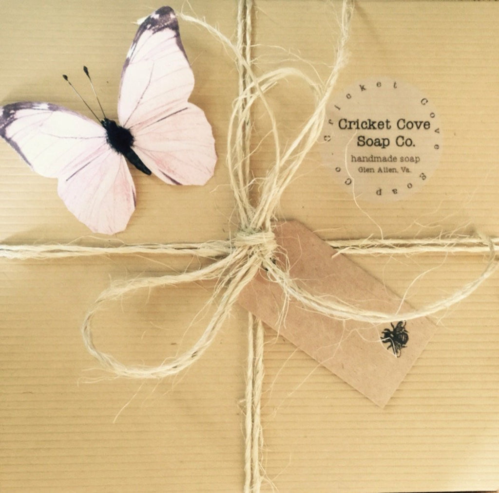 Cricket Cove Soap Co. Special Occasion Soap Gift Box