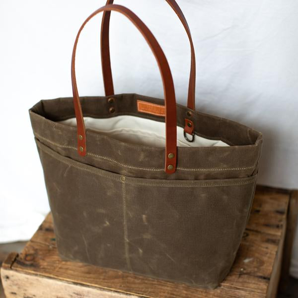 Lineage Goods Mountain Laurel Bag - Field Tan