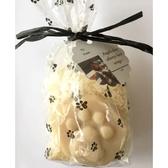 Paw with Pup Sudz... Goat's Milk Gift Soaps for Pet & their Human from Laurel Woods Farms