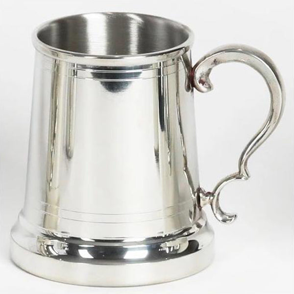 "Virginia Tankard, pewter 4.25"" x 3"""