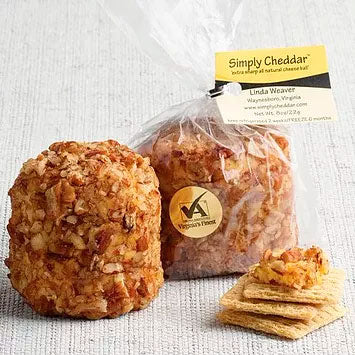 All-Natural Handcrafted Cheese Balls from Simply Cheddar