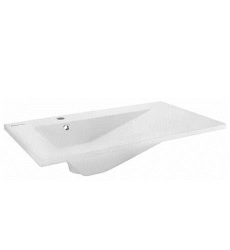 American Standard White FUNZIONALE Intergrated Top and Basin