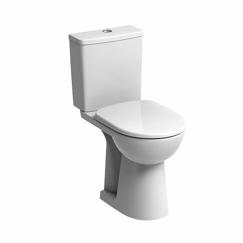 TWYFORD E100 SQUARE Flushwise® Close Coupled Raised Height Toilet Combination