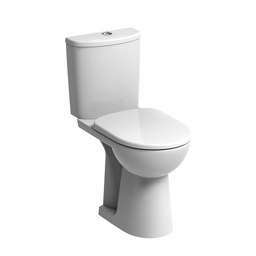 TWYFORD E100 ROUND Flushwise® Close Coupled Raised Height Toilet Combination