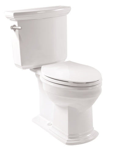 White PIAMONTE Toilet Combination with Seat