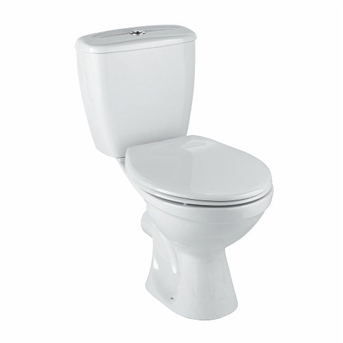 TWYFORD OPTION Pushbutton Close Coupled Toilet Combination